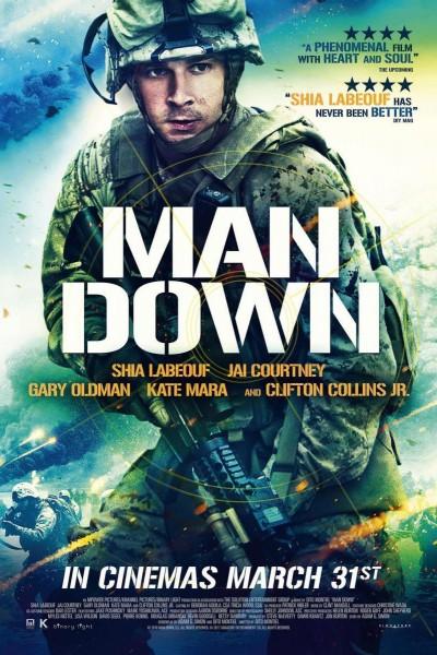Caratula, cartel, poster o portada de Man Down
