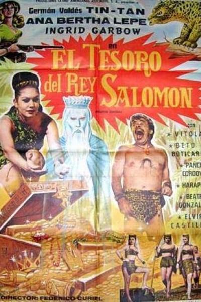 Caratula, cartel, poster o portada de El tesoro del rey Salomón