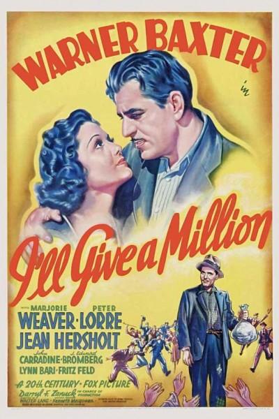 Caratula, cartel, poster o portada de I\'ll Give a Million