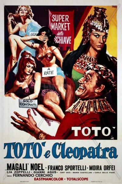 Caratula, cartel, poster o portada de Totò e Cleopatra