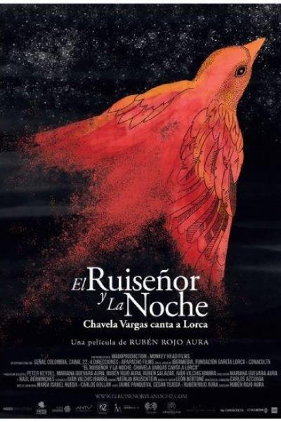 Caratula, cartel, poster o portada de El ruiseñor y la noche. Chavela Vargas canta a Lorca