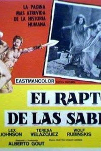 Caratula, cartel, poster o portada de El rapto de las sabinas