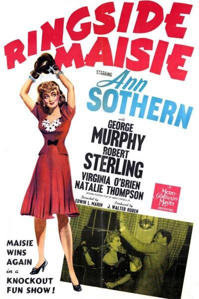 Caratula, cartel, poster o portada de Ringside Maisie