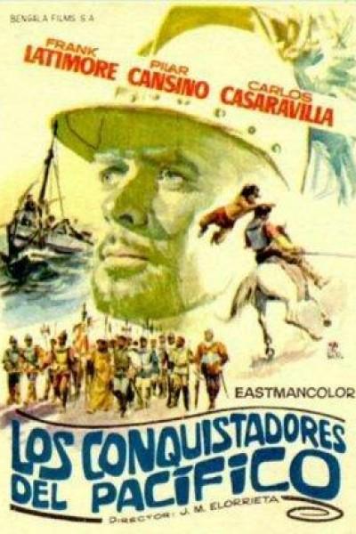 Caratula, cartel, poster o portada de Los conquistadores del Pacífico