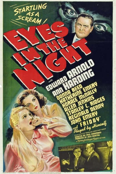 Caratula, cartel, poster o portada de Ojos en la noche