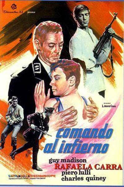 Caratula, cartel, poster o portada de Comando al infierno