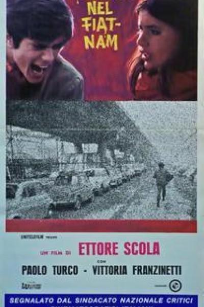 Caratula, cartel, poster o portada de Trevico-Torino (Viaggio nel Fiat-Nam)
