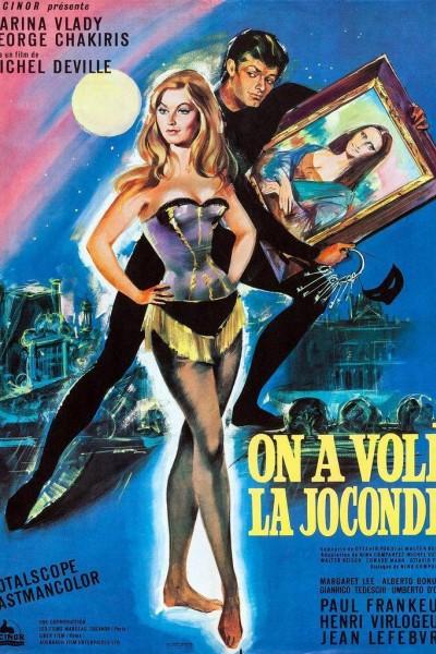 Caratula, cartel, poster o portada de El robo de la Gioconda