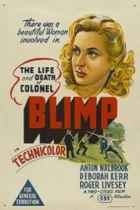 Caratula, cartel, poster o portada de Vida y muerte del Coronel Blimp