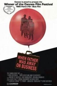 Caratula, cartel, poster o portada de Papá está en viaje de negocios