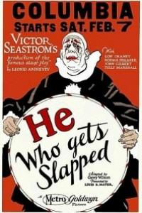 Caratula, cartel, poster o portada de El que recibe el bofetón