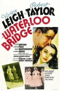 Caratula, cartel, poster o portada de El puente de Waterloo