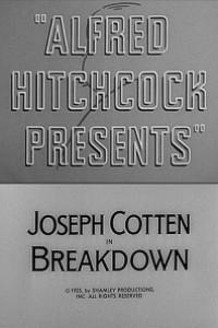 Caratula, cartel, poster o portada de Alfred Hitchcock presenta: Colapso (Angustia)