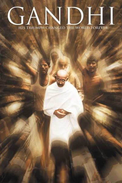 Caratula, cartel, poster o portada de Gandhi