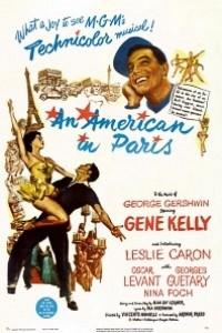 Caratula, cartel, poster o portada de Un americano en París