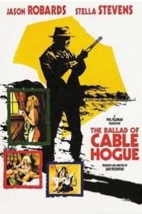 Caratula, cartel, poster o portada de La balada de Cable Hogue