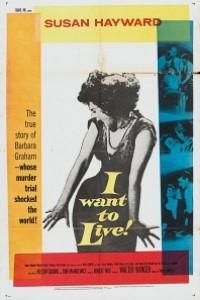 Caratula, cartel, poster o portada de ¡Quiero vivir!