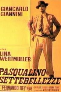 Caratula, cartel, poster o portada de Pasqualino: Siete bellezas