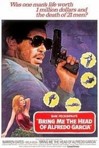 Caratula, cartel, poster o portada de Quiero la cabeza de Alfredo García