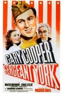Caratula, cartel, poster o portada de El sargento York