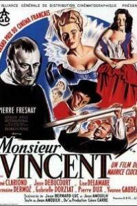 Caratula, cartel, poster o portada de Monsieur Vincent