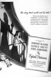 Caratula, cartel, poster o portada de La escalera de caracol
