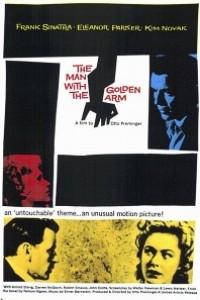 Caratula, cartel, poster o portada de El hombre del brazo de oro