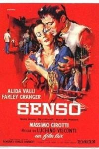 Caratula, cartel, poster o portada de Senso