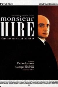 Caratula, cartel, poster o portada de Monsieur Hire