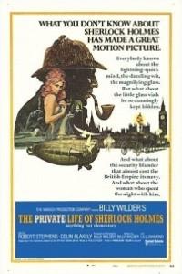 Caratula, cartel, poster o portada de La vida privada de Sherlock Holmes