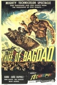 Caratula, cartel, poster o portada de El ladrón de Bagdad