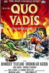 Caratula, cartel, poster o portada de Quo Vadis