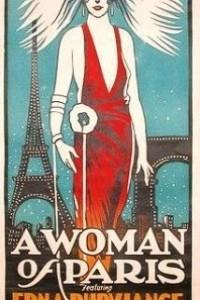 Caratula, cartel, poster o portada de Una mujer de París