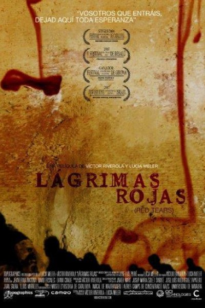 Caratula, cartel, poster o portada de Lágrimas rojas