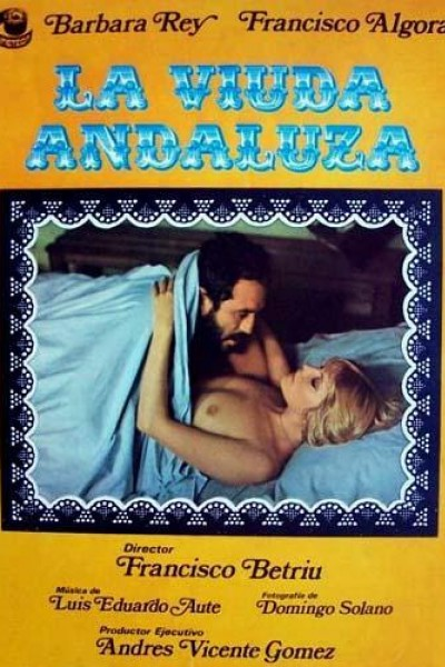 Caratula, cartel, poster o portada de La viuda andaluza