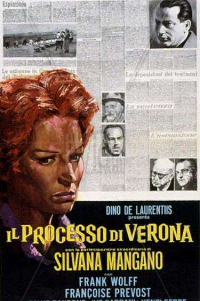 Caratula, cartel, poster o portada de El proceso de Verona