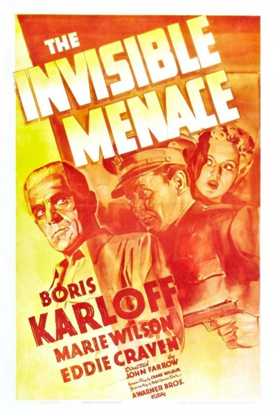 Caratula, cartel, poster o portada de The Invisible Menace