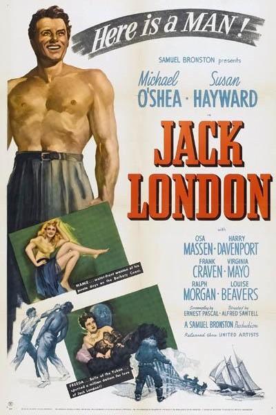 Caratula, cartel, poster o portada de Aventuras de Jack London