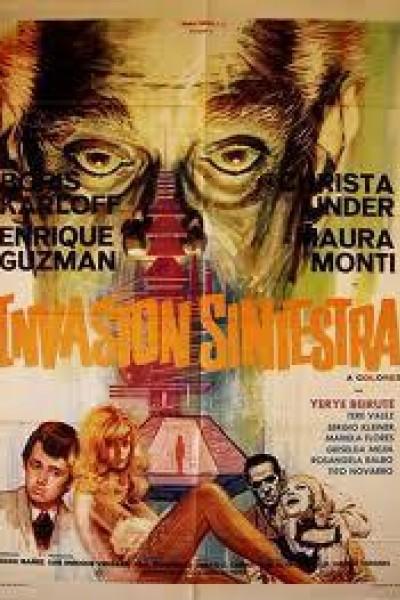 Caratula, cartel, poster o portada de Invasión siniestra