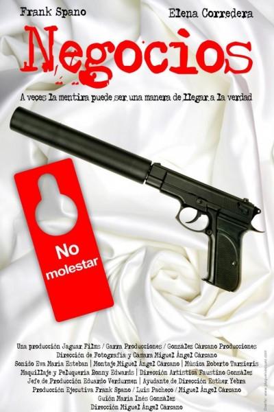 Caratula, cartel, poster o portada de Negocios