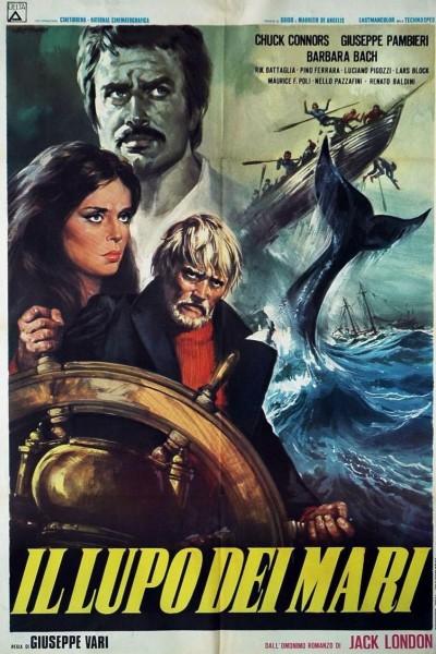 Caratula, cartel, poster o portada de La leyenda del lobo de mar