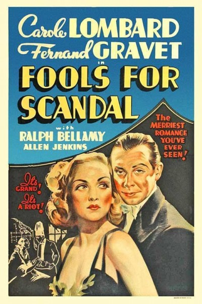 Caratula, cartel, poster o portada de Fools for Scandal