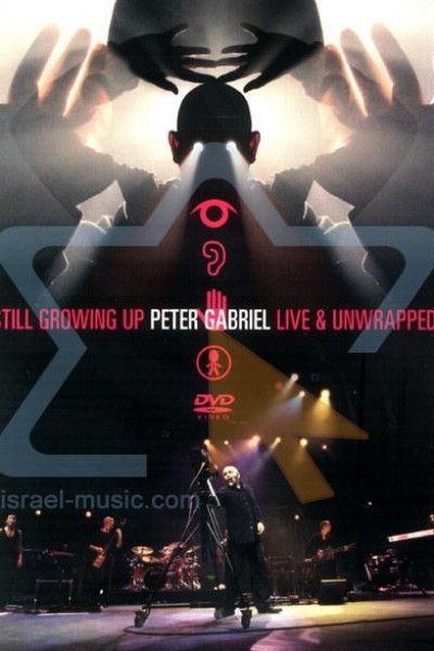 Caratula, cartel, poster o portada de Peter Gabriel: Still Growing Up Live and Unwrapped