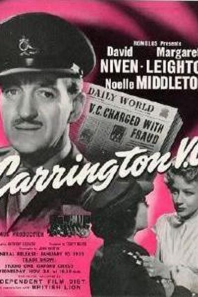 Caratula, cartel, poster o portada de Consejo de guerra (Carrington V.C.)