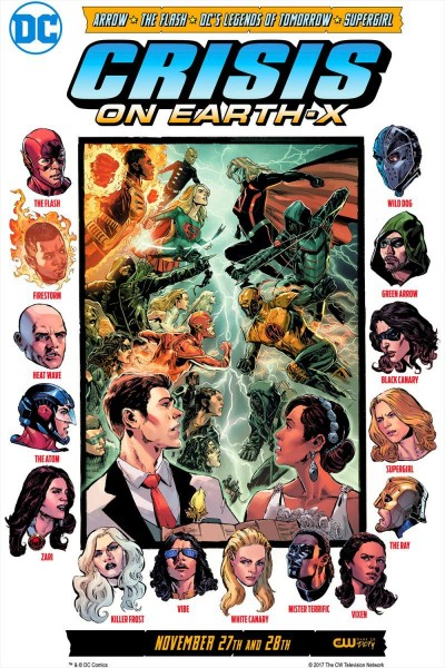 Caratula, cartel, poster o portada de Crisis on Earth-X