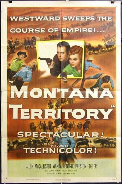 Caratula, cartel, poster o portada de Montana Territory