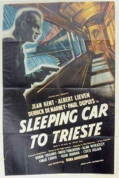 Caratula, cartel, poster o portada de Coche cama a Trieste