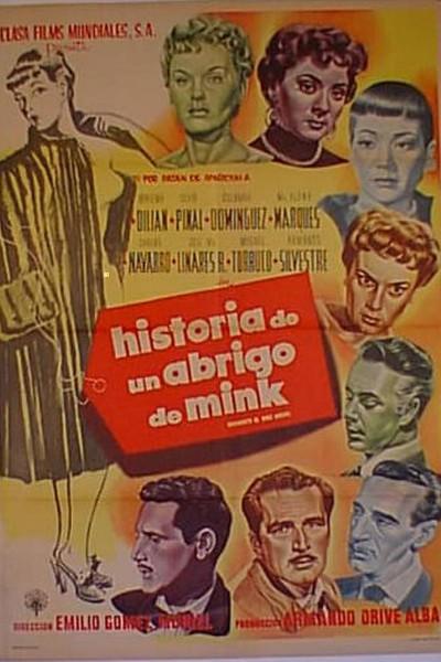 Caratula, cartel, poster o portada de Historia de un abrigo de mink