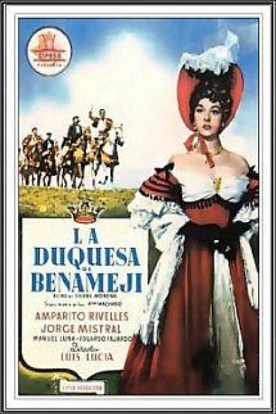 Caratula, cartel, poster o portada de La duquesa de Benamejí