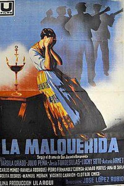 Caratula, cartel, poster o portada de La malquerida